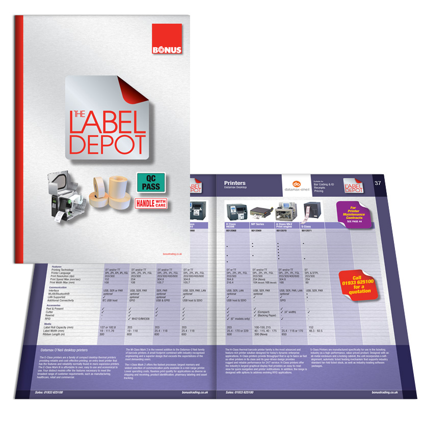 Bonus Trading: Label Depot Catalogue 2015