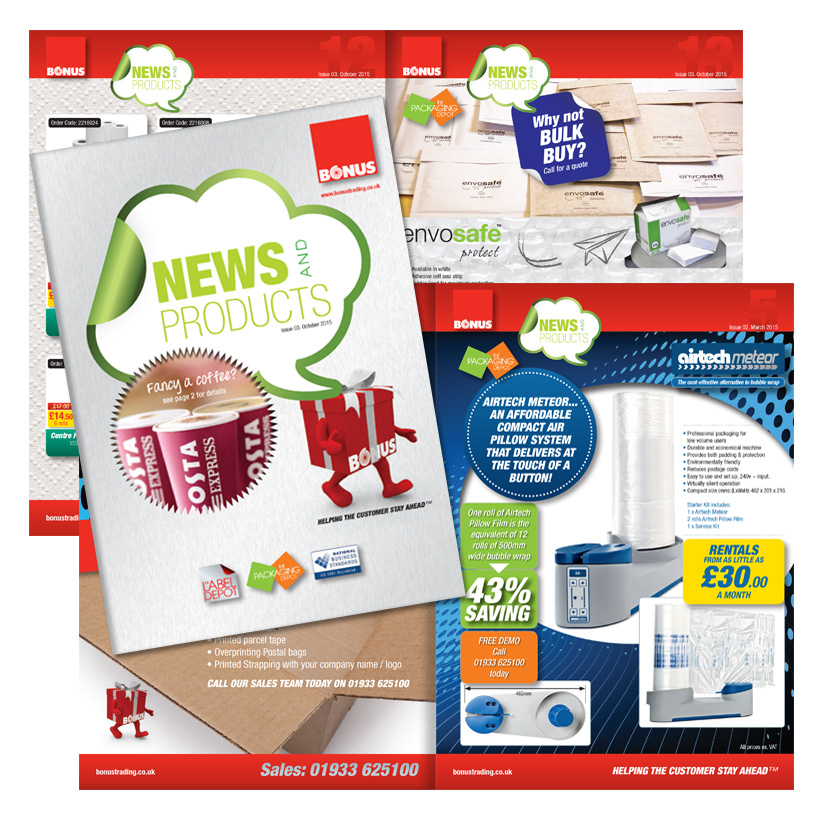 Bonus Trading: News & Products Brochure 2015