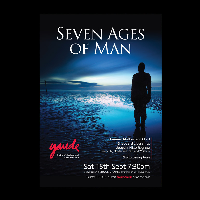 Gaude: Seven Ages of Man. September 2018