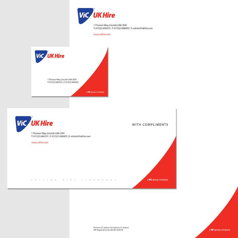 ViC Group UK Hire: Stationery