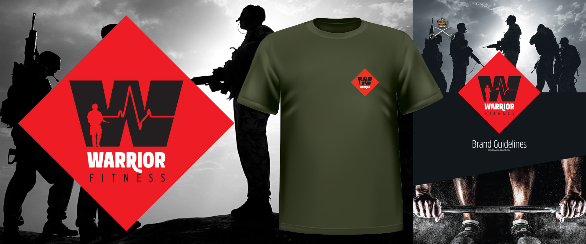 British Army Warrior Fitness Brand