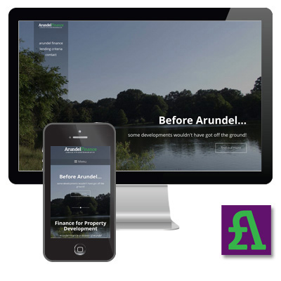 Arundel Finance Responsive Website