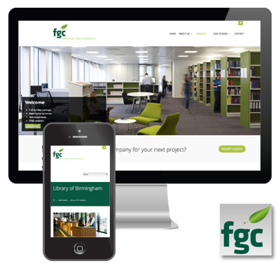 Furniture Group Contracts Responsive Website