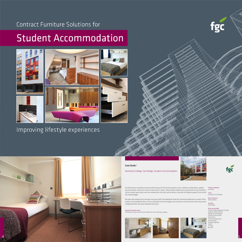 FGC Student Accommodation Brochure