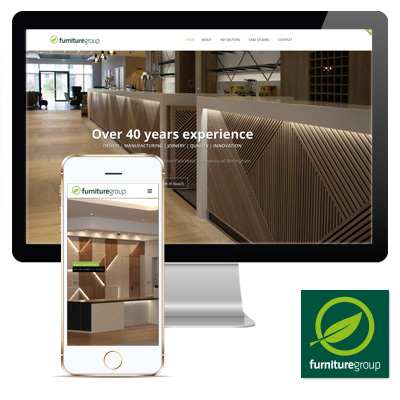 Furniture Group Manufacturing Responsive Website
