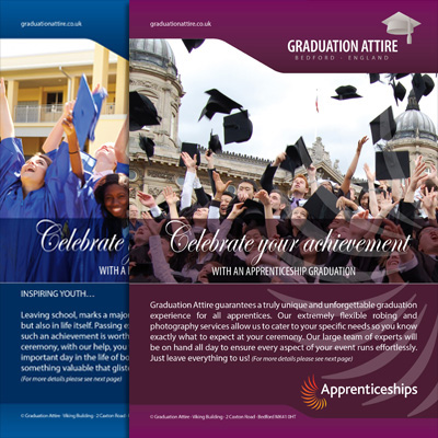 Graduation Attire Leaflets