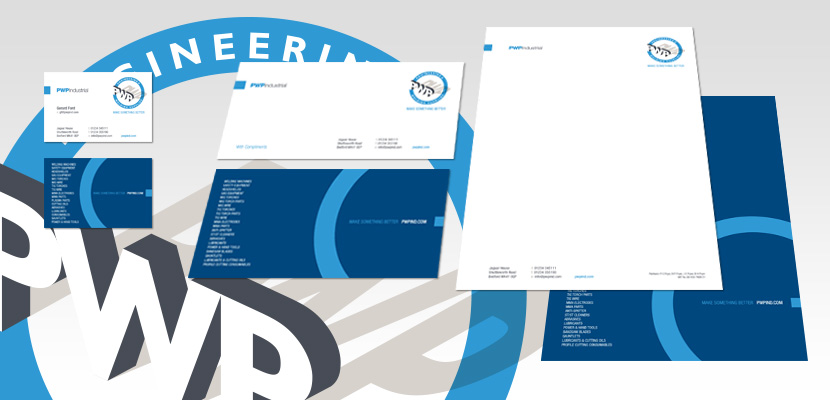 PWP Industrial: Corporate Stationery 2017
