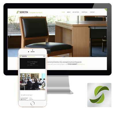Serota Bespoke Furniture Responsive Website