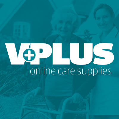 V Plus Online Care Supplies Logo